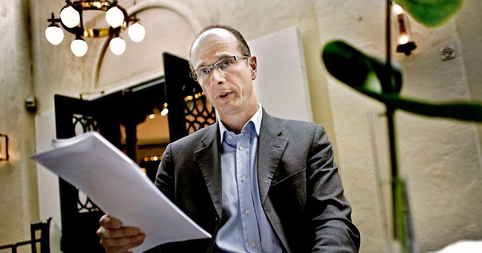 Sjefsøkonom Petter Eilif De Lange i Sparebank 1.