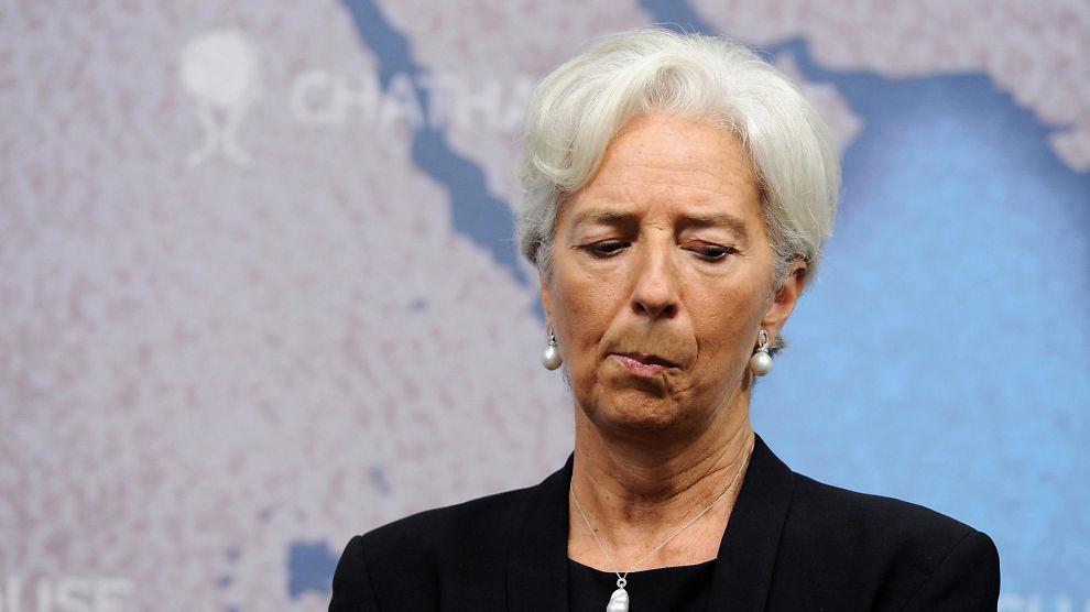 IMF-sjef Christine Lagarde.