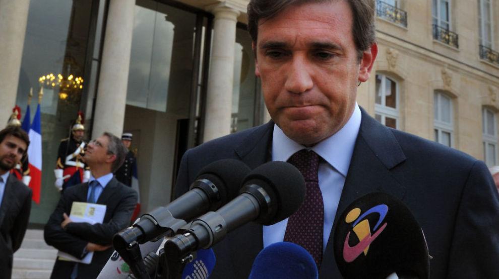 FRYKTER GRESK KOLLAPS: Portugals statsminister Pedro Passos Coelho tror at landet må be om mer krisehjelp dersom Hellas ikke klarer seg.