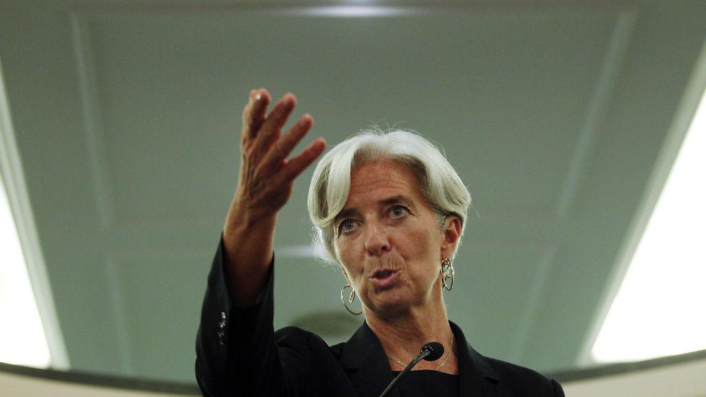 IMF-SJEF: Christine Lagarde mener Europakrisen ødelegger for resten av verden.