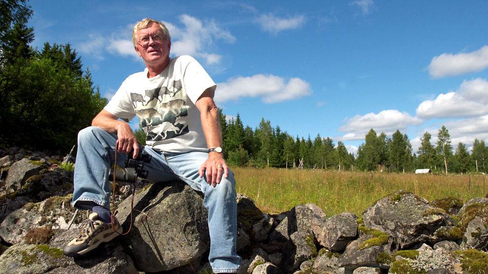 BYGGET OPP «UT I NATUREN»: Hans Christian Alsvik.