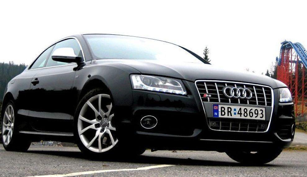 TOPP: S5 er toppmodellen i A5-serien til Audi. Ryktene går om en RS5 med 500 hester, men det er mulig det bare ønsketenkning fra dem som ønsker en mindre veldressert versjon av denne modellrekken.