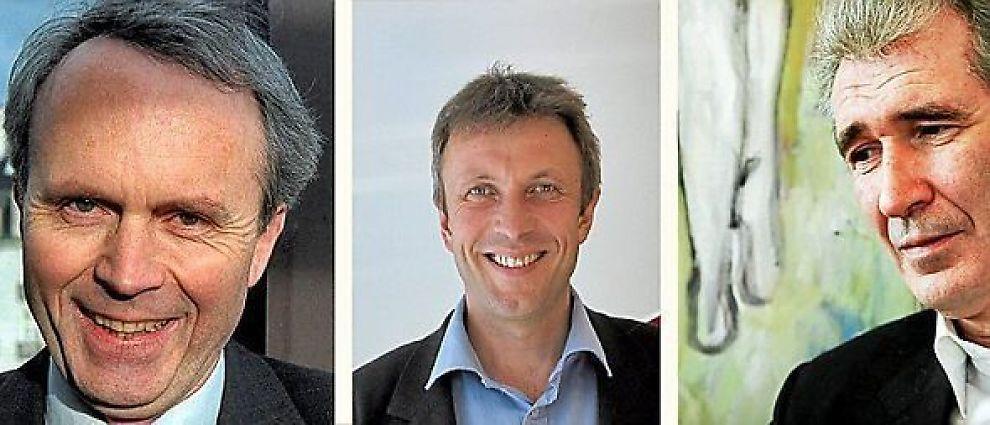 JAKTER HODER: Steinar Hopland, Magne Amundsen og Torbjørn Gjelsta jakter alle på hoder, og gjorde det godt i fjor.