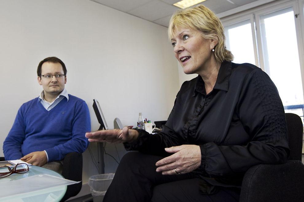 GLEMMER SKATTEYTERNE: Kristin Clemet og Villemann Vinje i tankesmien Civita vil fjerne rentefradraget for privatpersoner for å stagge prispresset i boligmarkedet. De har ingen sjanse til å få gjennomslag.