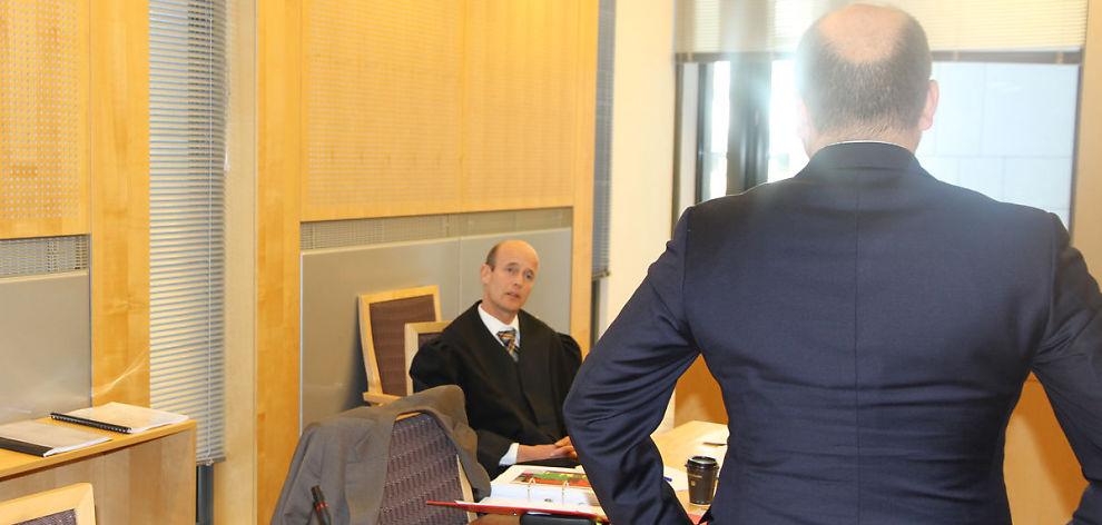 ANKER: Statsadvokaten anker robotsaken til Høyesterett. Her er aktor Christian Stenberg avbildet under rettssaken i Oslo tingrett i september i fjor.