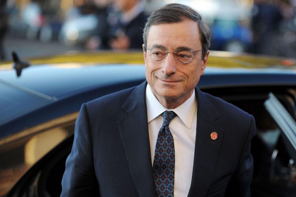 FØRSTE RENTEMØTE: Italienske Mario Draghi har torsdag avholdt sitt første rentemøte i Den europeiske sentralbanken.