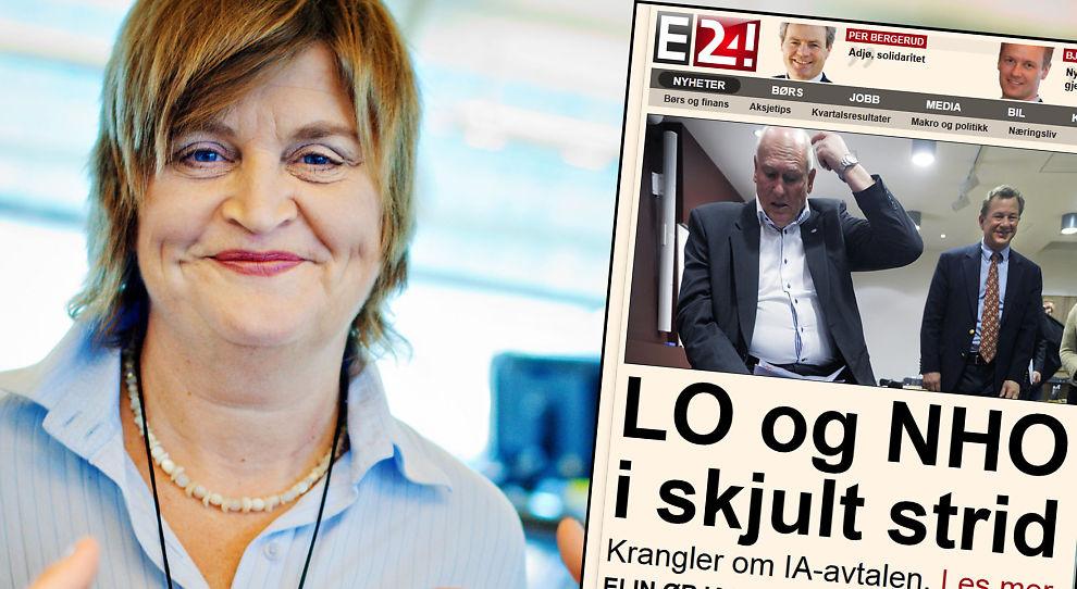 IA-AVTALEN: Oppsigelsesvern og penger - det er det saken handler om, skriver Elin Ørjasæter.