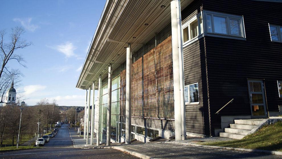 PÅ JOBB: Den 45 år gamle bloggeren hadde praksisplass her ved Mittuniversistets avdeling i Härnösand.