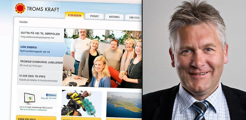 MILLIARDJUKS: Konsernsjef i Troms Kraft AS, Oddbjørn Schei, sier tirsdag at et svensk datterselskap er anmeldt for regnskapsjuks i milliardklassen.