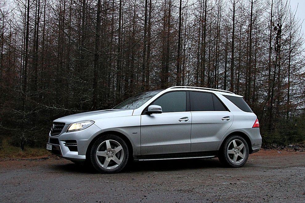 <p>ERFAREN: Mercedes-Benz ML har vært med lenge. Første generasjon kom i 1997. Nå har de kommet til tredje.</p>