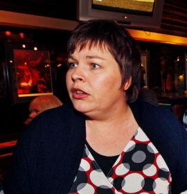 GLAD: Leder i Norsk Journalistlag (NJ), Elin Floberghagen