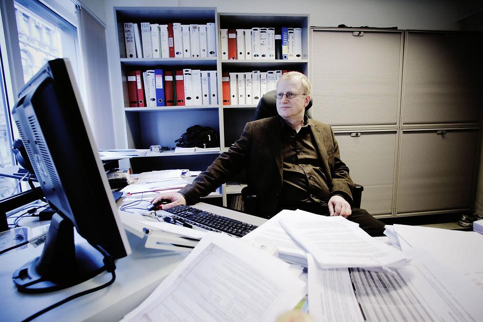LEGER FÅR SKYLDA: Mange leger er opprørt over at de blir pekt ut som årsaken til det høye sykefraværet i Norge, sier Trond Egil Hansen som leder Allmennlegeforeningen.