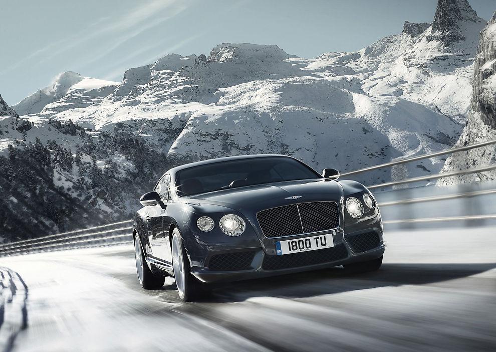 Ny Bentley Med Norsk Agent Bil E24