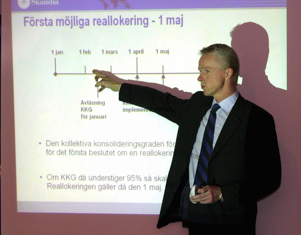 <p>TOPPSJEF: Bengt-Åke Fagerman blir ny konsernsjef i Skandia.</p><p></p>