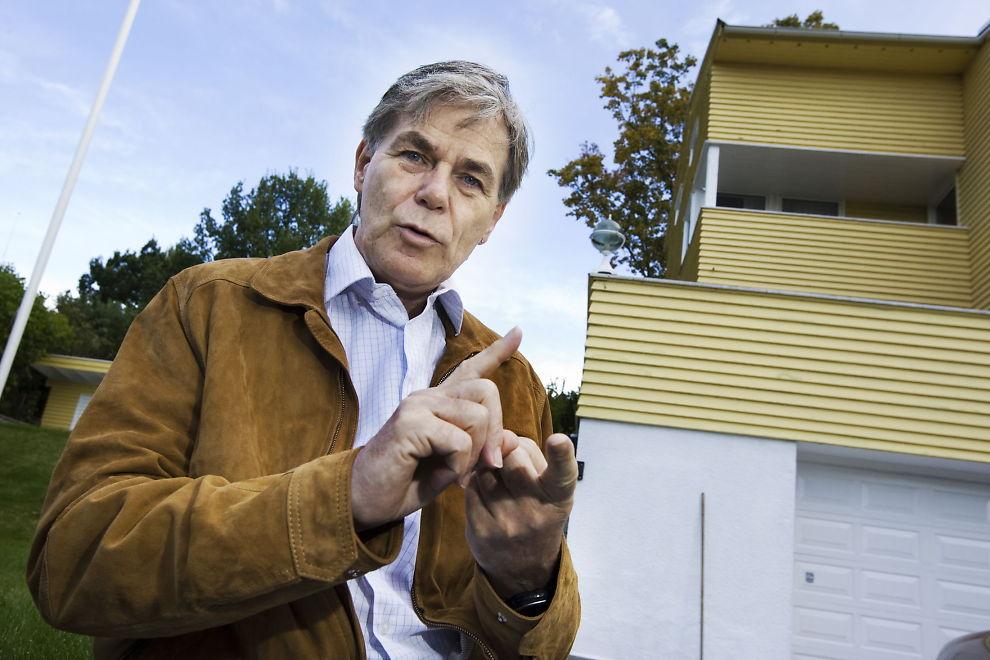 FORNØYD: Dine Penger-gründer Christian Vennerød tjener godt på å spekulere i gjelden til selskaper som sliter med finansieringsproblemer.