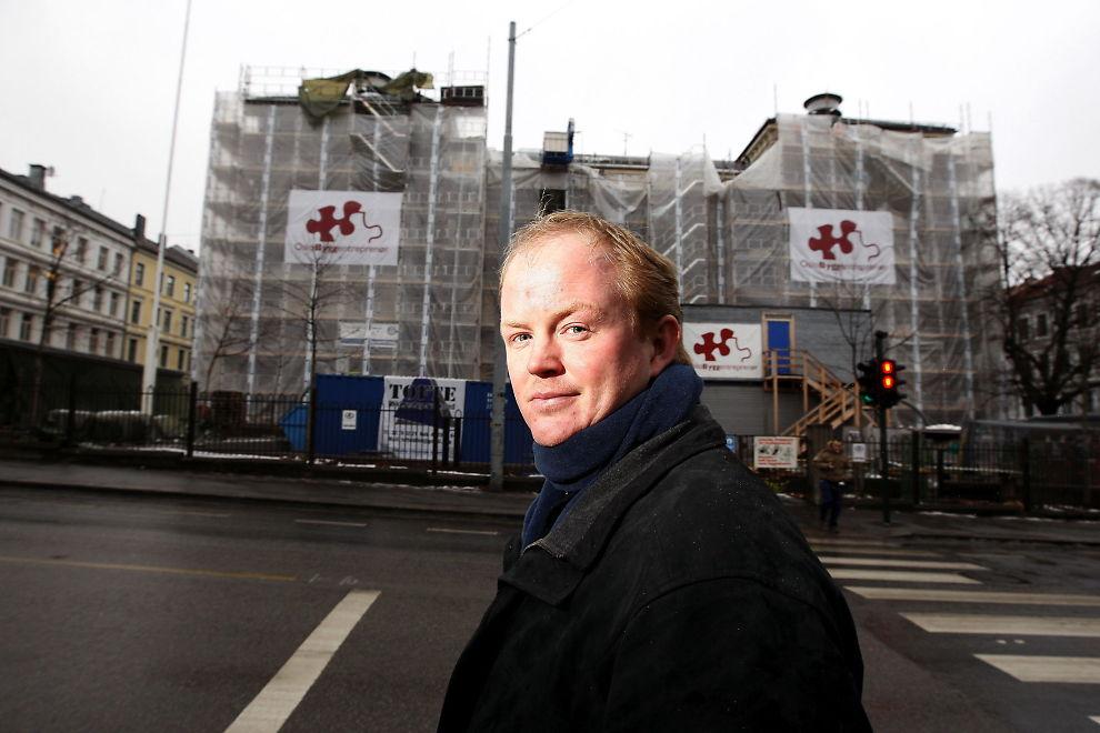 JUBLER IKKE: Lars Haltbrekken i Naturvernforbundet.