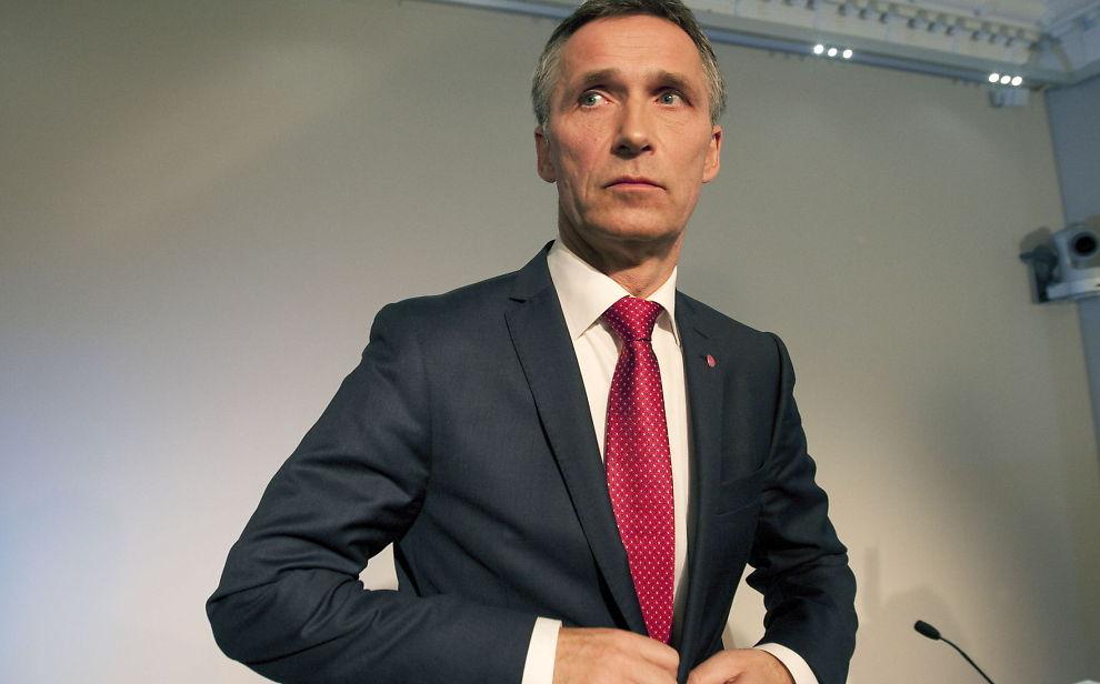 ARVER HYTTE: Statsminister Jens Stoltenberg (Ap)