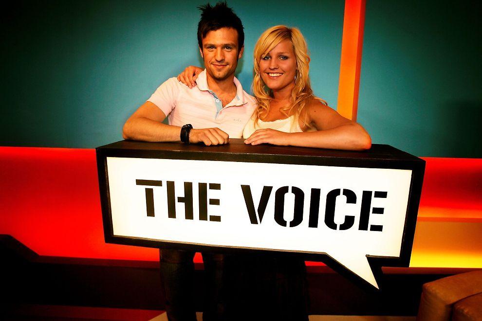 LEGGES NED: TV-kanalen The Voice ble lansert som norgesungdommens nye musikkanal i 2004. Her med programlederne Glenn Olstad og Mariann Bodøgaard, som begge gikk fra kanalen i 2008, da den norske avdelingen ble nedlagt.