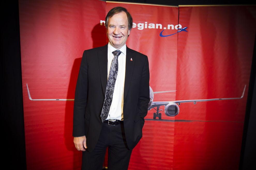 FORHANDLET SELV: Norwegians administrerende direktør Bjørn Kjos, kunngjorde onsdag at Norwegian har signert avtale både med Airbus og Boeing om kjøp av totalt 222 nye fly til en samlet listeprisverdi på 127 milliarder kroner. Kjøpet er Fastlands-Norges desidert største enkeltinvestering.