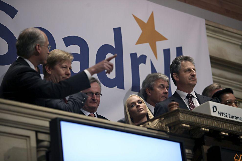 <p>NEW YORK-NOTERT: Seadrill ble børsnotert i New York i april i 2010. Kathrine Fredrisen og resten av ledelsen var med på å markere noteringen.</p>