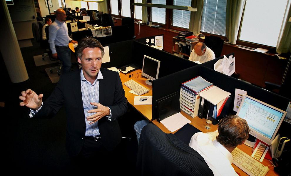 DIALOG: Styreleder Alfred Ydstebø i Acta Holding sier at selskapet har en tett dialog med Finanstilsynet om restruktureringen av selskapet.