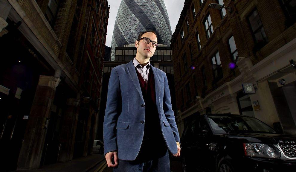 AVSLØRER: Som tidligere megler kjenner Alex Preston finanssektoren i City of London svært godt, og bruker kunnskapen i sine avslørende bøker.