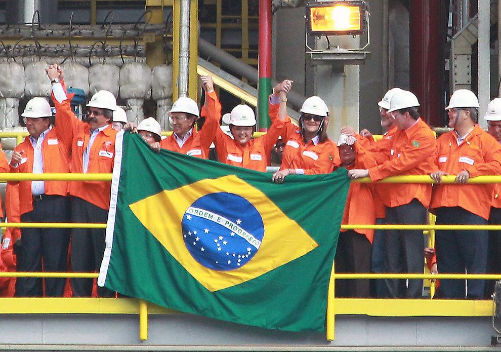 BRASILIANSK OLJEFST: Brasilianske Petrobras skal leie tilsammen 11 boreskip fra norske riggselskaper.