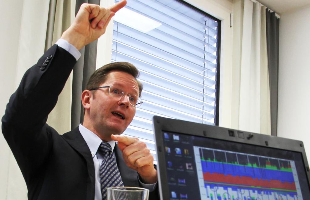Nils Bastiansen, direktør for aksjer i Folketrygdfondet.