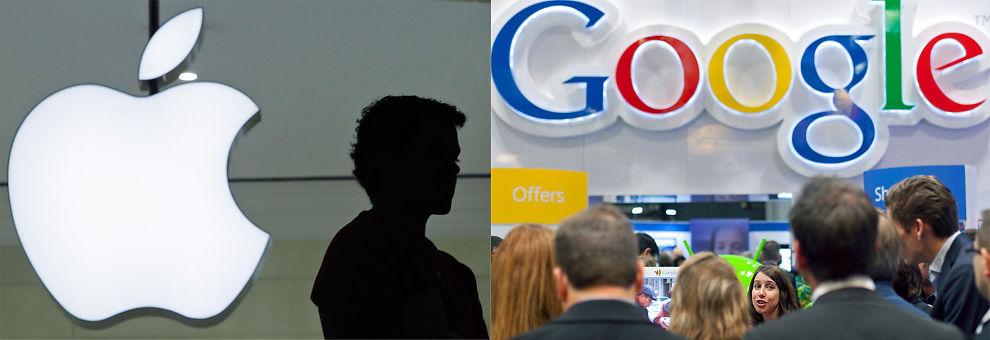 BEST -IGJEN: Apple gikk forbi Google på prestisjefylt omdømmeliste.
