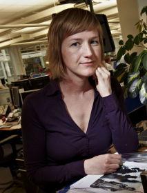- STERKE ORD: Seniorøkonom Katrine Boye i Nordea Markets mener Olsen sender klare signaler om en justering i pengepolitikken.