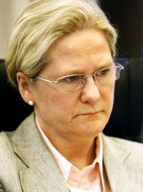 GÅR PÅ DAGEN: Visekonsernsjef Lise Vedde-Fjærestad i Terra-Gruppen AS fratrer sin stilling med øyeblikkelig virkning, i likhet med Terra-Gruppens konsernsjef Stein Ole Larsen.