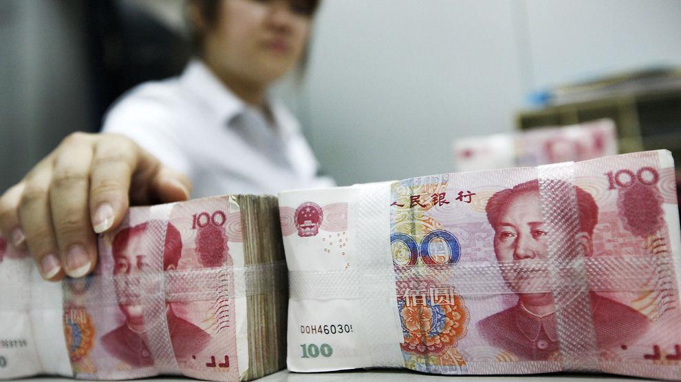 FRYKTER LAV VEKST: Kinas BNP-vekst kan falle ned mot 6-7 prosent, frykter økonom.