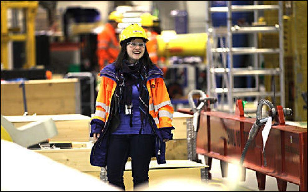 19e5c629 RETT I JOBB: Som ferdig utdannet HMS-ingeniør stiller Hanne Waage Haga (24