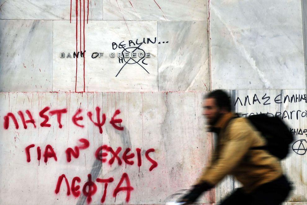 KONKURS: Hellas er konkurs, sier kredittvurderingsbyrået Fitch.