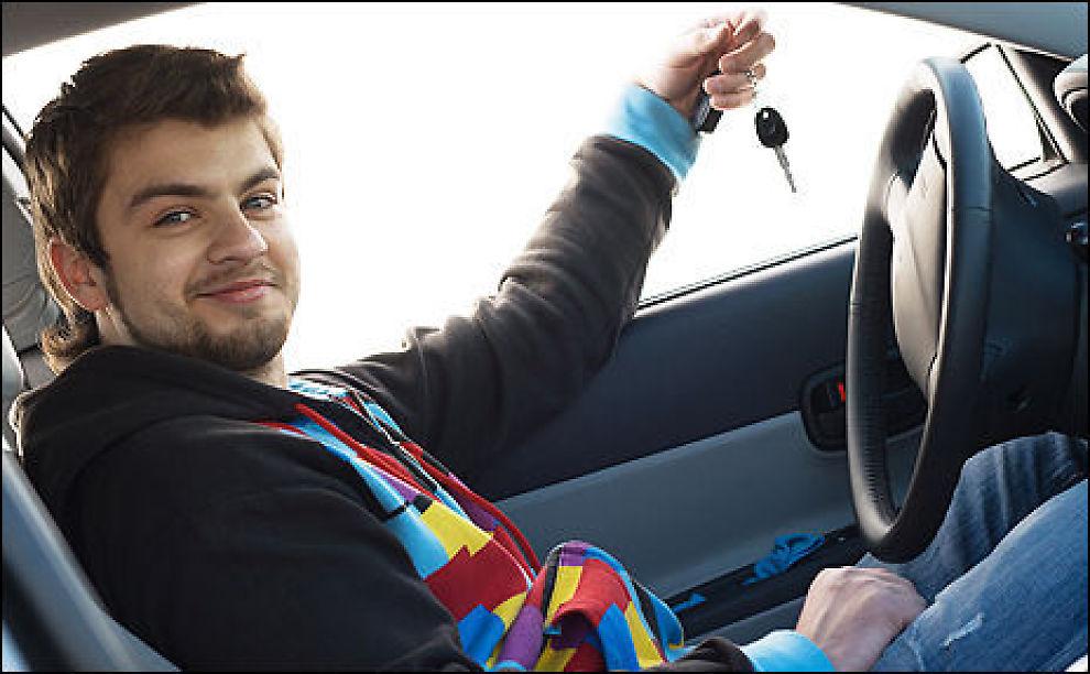 ENDELIG BIL: Velger du feil forsikringsselskap, kan bilforsikringen fort ødelegge moroa med egen bil. Illustrasjonsfoto: colourbox.com