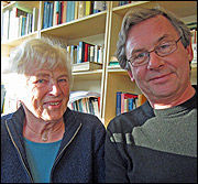 Anne Marie Øybø og Elling Borgeraas ved Statens institutt for forbruksforskning (SIFO).
