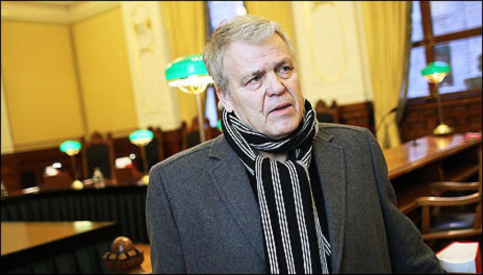 TAPTE: At Halvor Lognvik og sønnen tapte mot Storebrand i Høyestrett, er skremmende, mener sjefredaktør Tom Staavi. Foto: Taral Jansen / Dine Penger