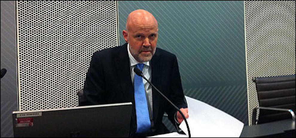 STRENGERE: Nå vil Finanstilsynets direktør Morten Baltzersen gjøre det enda vanskeligere å ta opp mye lån. Foto: Morten Ulekleiv.