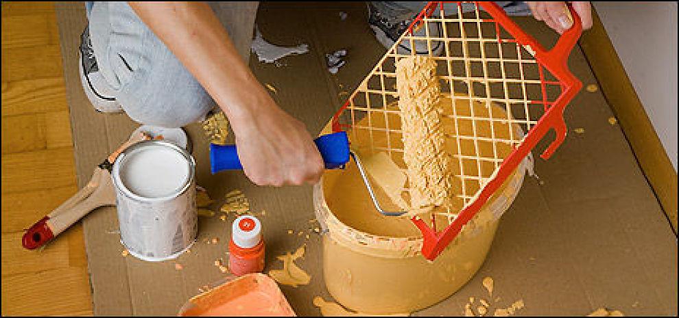 KOSTER MER: Vi bruker mer enn vi planlegger når vi skal pusse opp. Foto: Colourbox.com