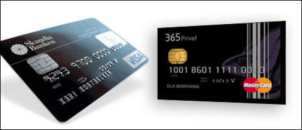 BEST: Skandiabanken og 365Direkte er de beste kredittkortene i Dine Pengers test.