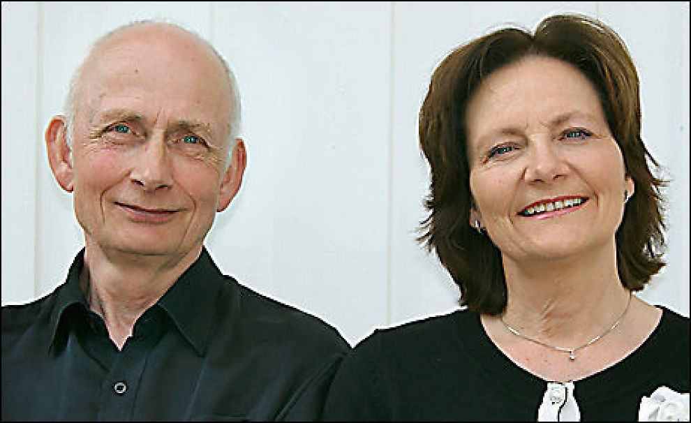 VANT: - Dette var veldig kjekt etter mange års kamp, sier Øyvin Hansen. Foto: Privat