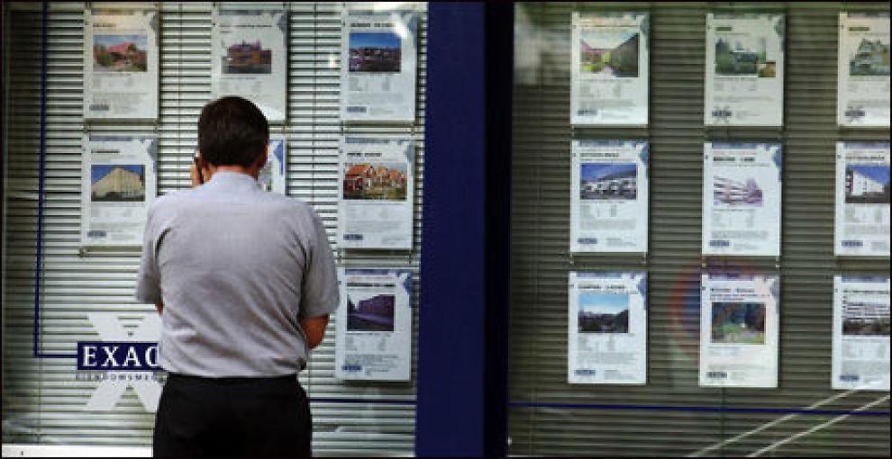 STOR PRISFORSKJELL: Veksten i boligprisene varierer sterkt mellom ulike objekter på landsbasis. Foto: SCANPIX