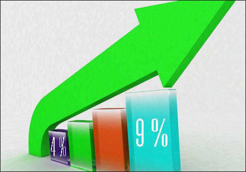 TÅLE: Finanstilsynet vil at du skal tåle at renten hopper til 9 prosent fra dagens rentenivå. Foto: Illustrasjonsfoto: colourbox.com