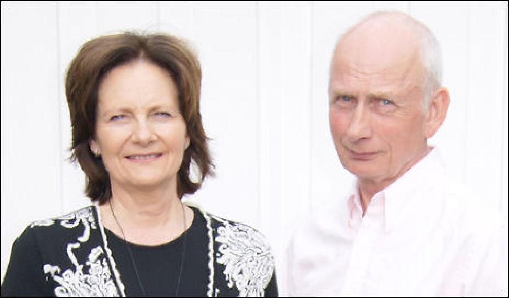 TRENGER PENGER: Øyvin og Gunn Hansen prøver å skaffe penger til ny rettsrunde mot Acta. Foto: Privat