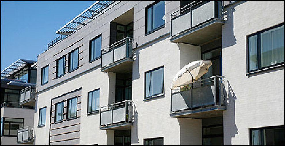 SOLSKINN: Boligprisene øker til torss for uro i verdensøkonomien. Foto: Colourbox.com
