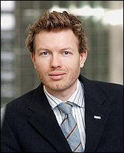 Informasjonssjef i Nordea, Thomas Sevang. Foto: Nordea.