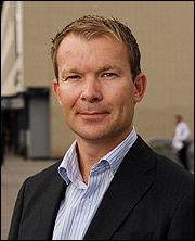 Informasjonsdirektør i DnB Nor, Thomas Midteide. Foto: DnB Nor.