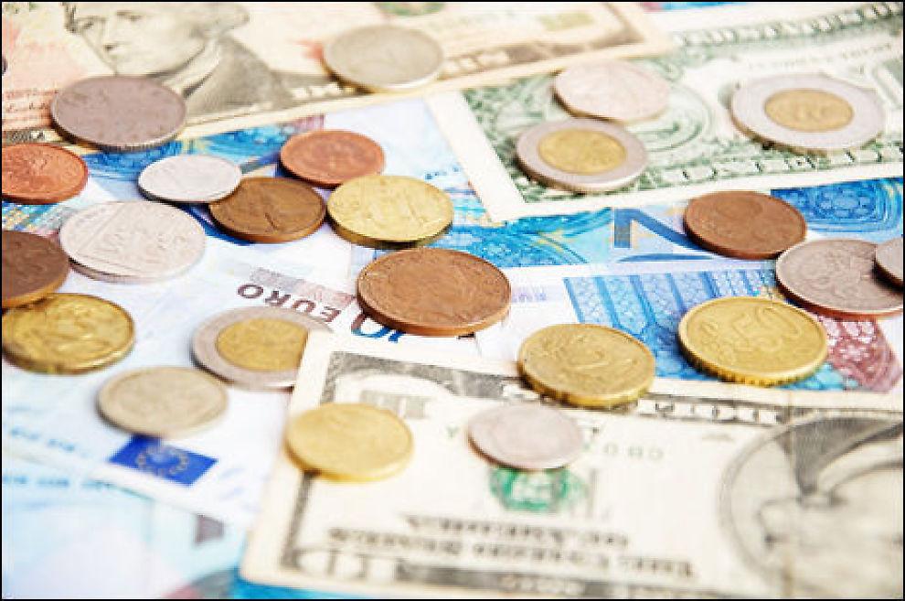 Det er store gebyrforskjeller mellom bankene hvis du trenger nødkontanter i utlandet. Illustrasjonsfoto: Colourbox.com