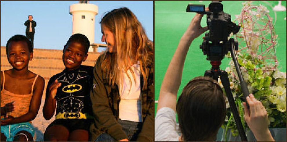 Blant årets studienyheter er blant annet afrikastudier ved NTNU og dokumentarfilmproduksjon ved Høyskolen i Lillehammer. Illustrasjonsfoto: Colourbox.no