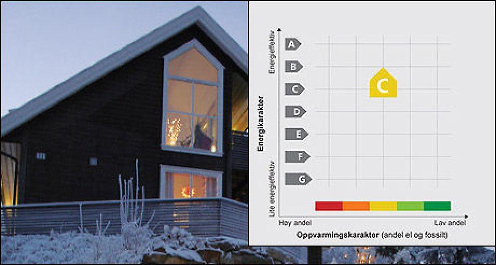 Folk er lite villige til å oppgradere boligen sin for å få en bedre energikarakter. Foto: Scanpix/NVE